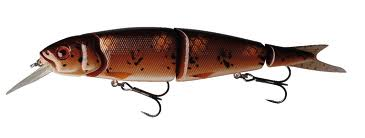 Savage Gear 4Play Herring Lowrider 19cm, Brown Burbout
