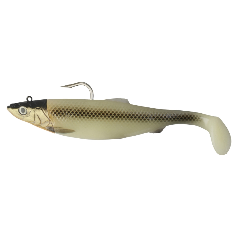 Savage Gear 3D Herring Big Shad 25cm 300g 1pcs - Gren Glow