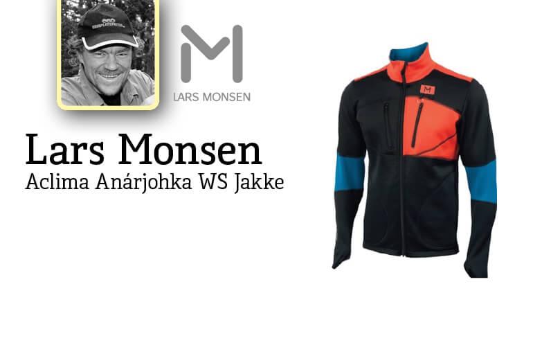 Aclima Lars Monsen Anárjohka WW Trøye