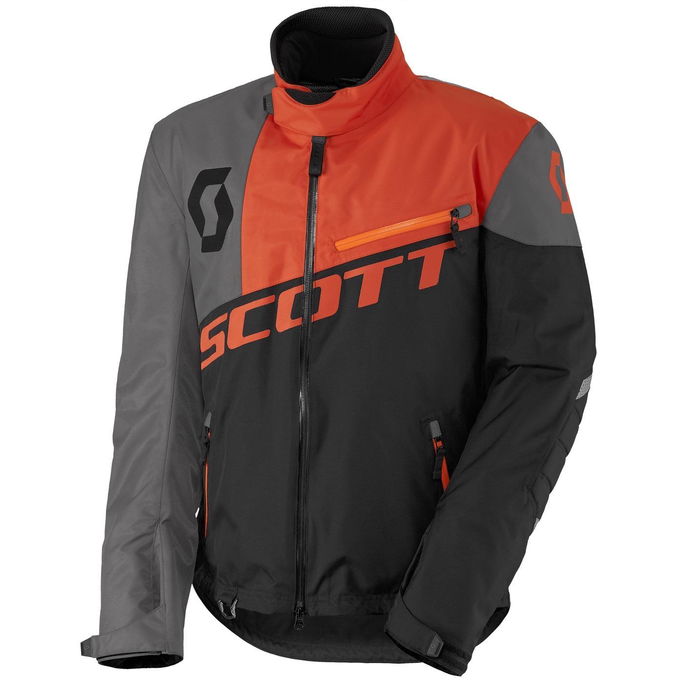 Scott Comp Pro Jakke - Sort/Orange - XS