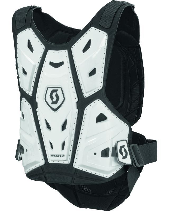 Scott Body Armor Commander - Hvit - Hvit