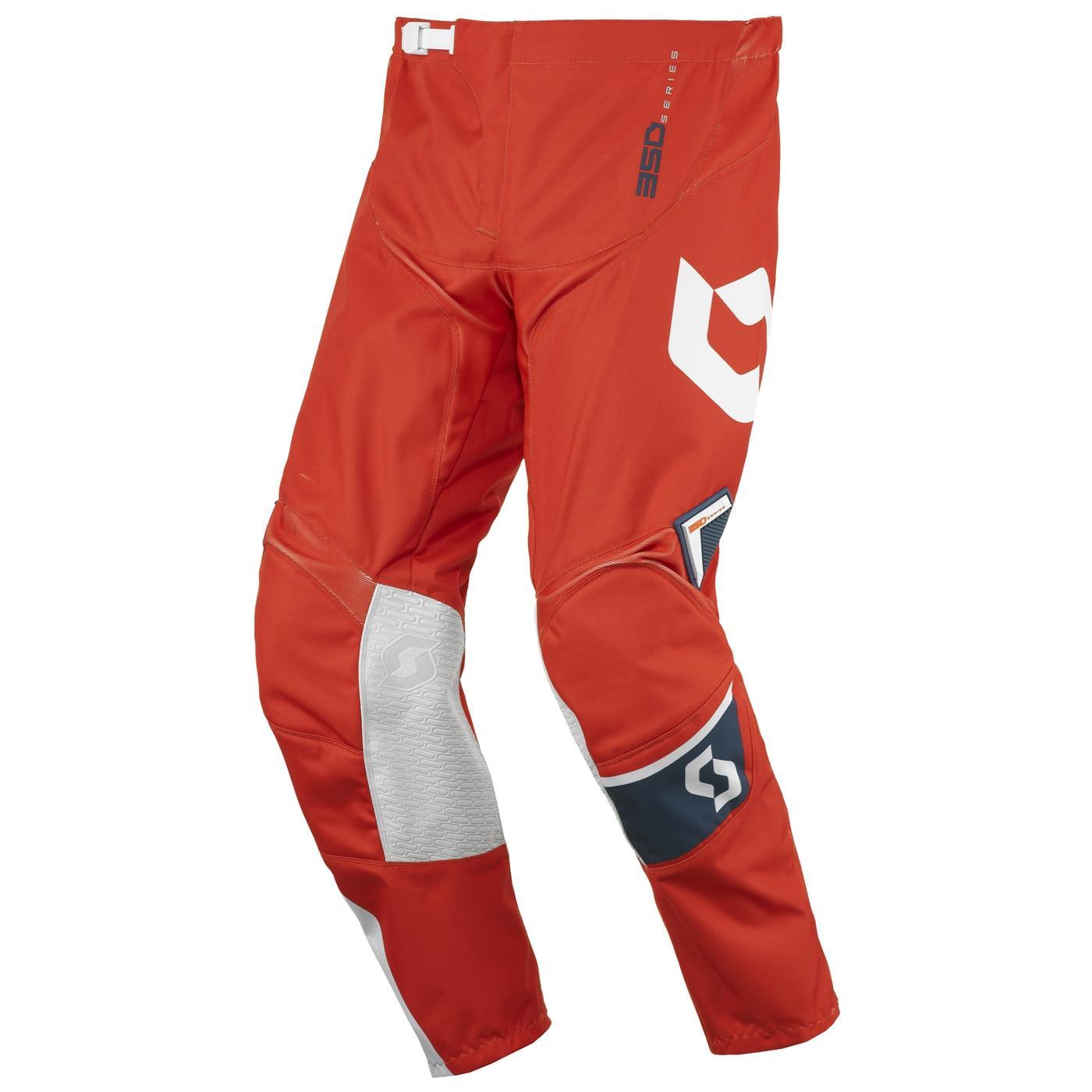 Scott 350 Dirt MX Bukse – Blå/Orange - 24