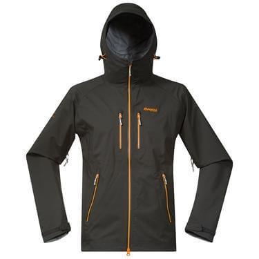 Bergans Eidfjord jacket - SolidCharcoal/Pumpkin/Alu - M