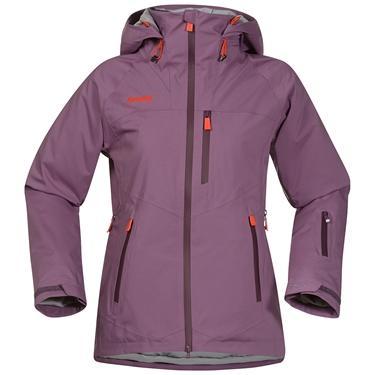 Bergans Norefjell Lady jacket - DustyPlum/Plum/Koi Orange - XL
