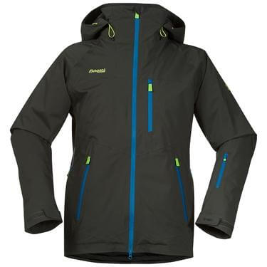 Bergans Norefjell Ins jacket - SolidCharcoal/Ocean/SpringLeaves - L