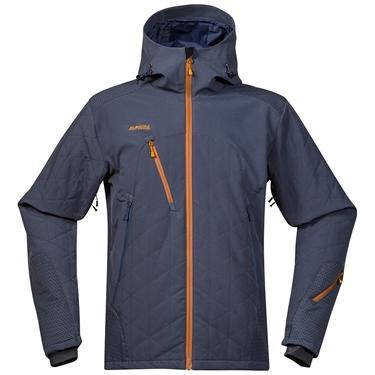Bergans Kongsberg Ins jacket - NightBlue/DustyBlue/Desert - XXL