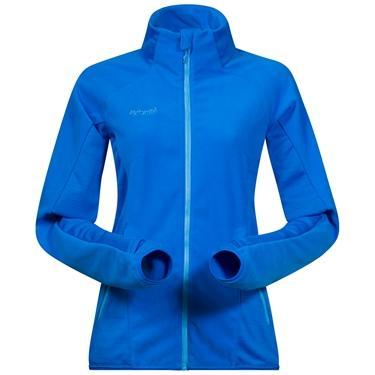 Bergans Cecilie Flc jacket - WinterSky/Lt WinterSky - S