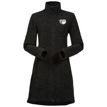 Bergans Tromsø Wool Lady Coat - Black Mel - M