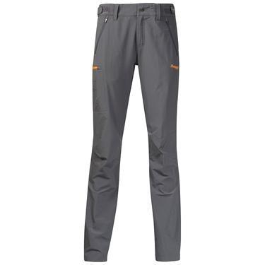 Bergans Torfinnstind Lady pants - SolidDkGrey/Pumpkin - L