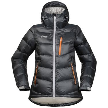 Bergans Memurutind Down Lady jacket - SolidDkGrey/Alu/Pumpkin - L