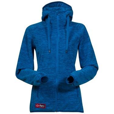 Bergans Hareid Lady jacket - Lt WinterSky Mel/Ocean - M