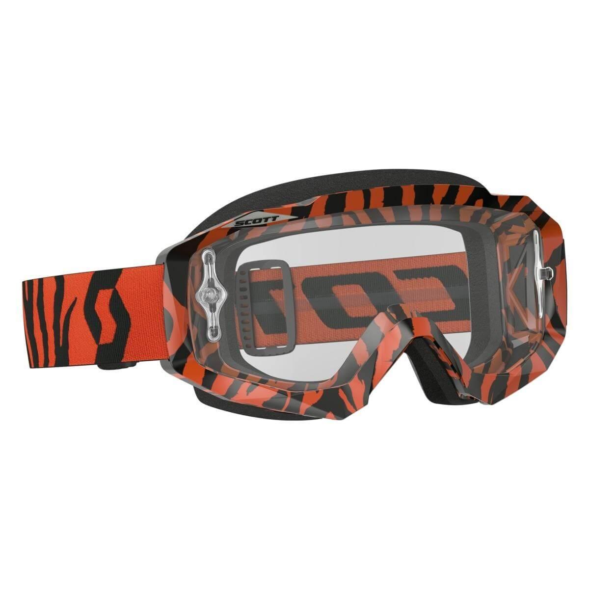 Scott Hustle MX Brille – Sort/Orange - 700