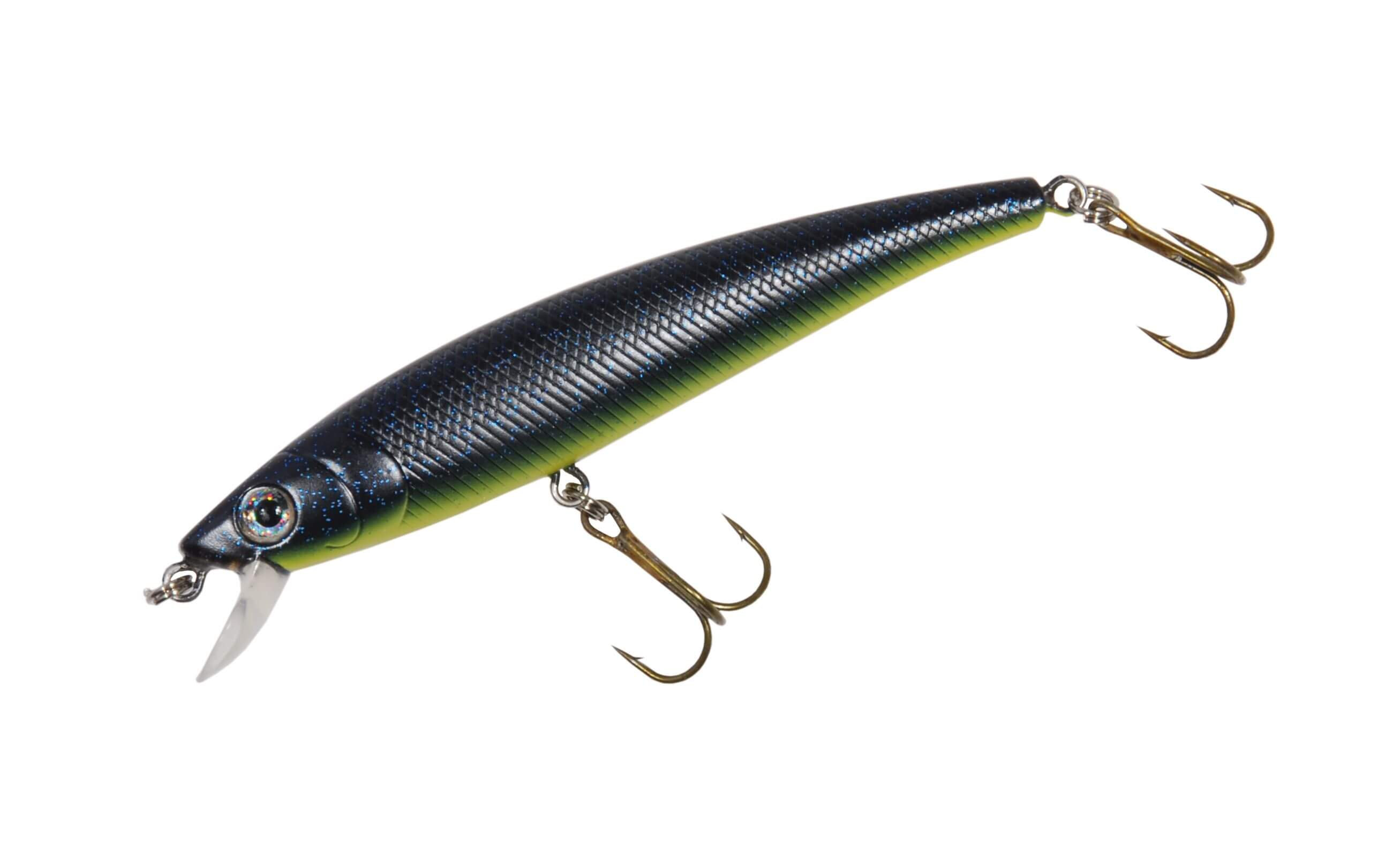 Spro Big Eye Minnow Wobbler - Blue Speckle