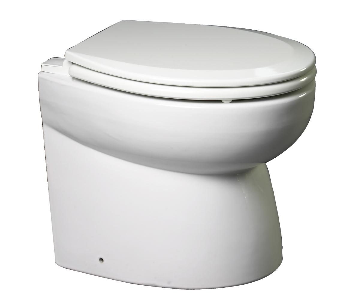 Toalett, Premium, Lavt, 24 V, Skrå Rygg